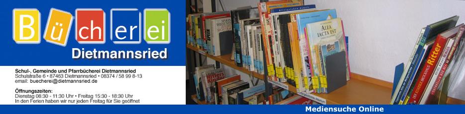 Gemeindebücherei Dietmannsried