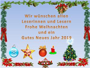 {#Weihnachtsgruß Bücherei 2018}